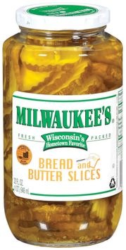 Milwaukee's Bread & Butter Slices Pickles