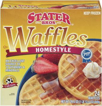 Stater bros Homestyle 24 Ct Waffles