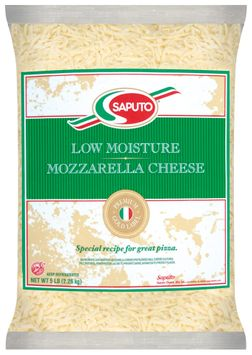 Saputo® Gold Whole Milk Mozzarella Shred Cheese