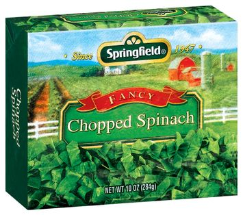 Springfield Chopped Fancy Spinach