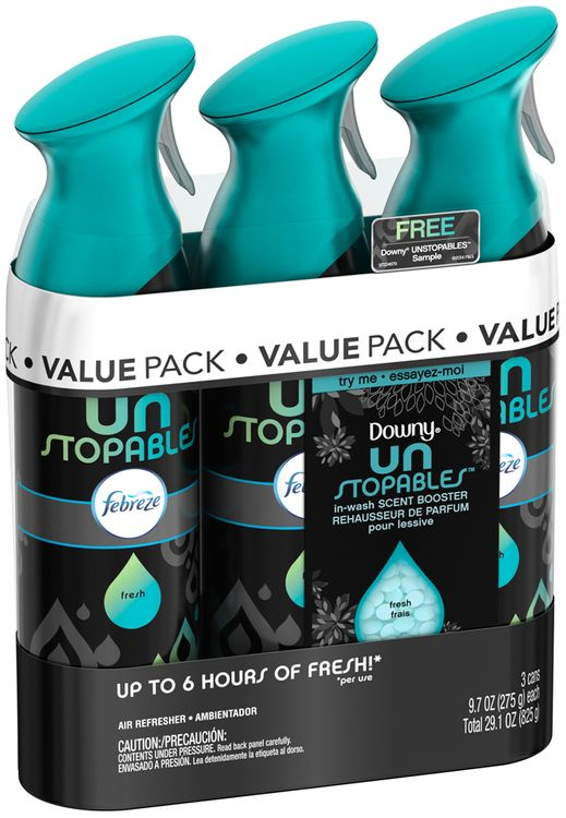 Air Effects Unstopables™ Fresh Air Freshener (3 Count, )