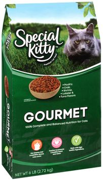 special kitty™ gourmet dry cat food