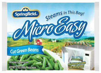 Springfield Cut Microeasy Green Beans