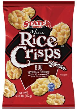 Stater bros Mini BBQ Rice Crisps