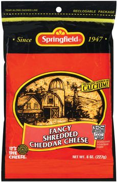 Springfield Fancy Shredded Cheddar Cheese