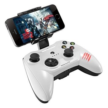 Mad Catz CTRLi Mobile Gamepad MFI White for Apple iPod iPhone and iPad