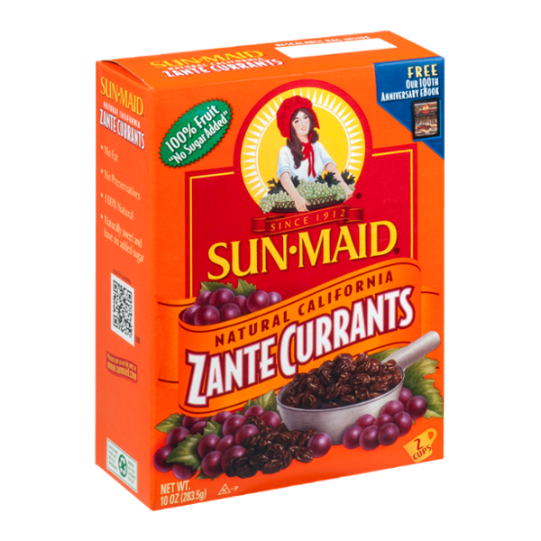 Sun-Maid Natural California Zante Currants Reviews 2020