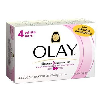 Olay White Bar with Silkening Moisturizer