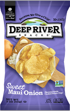 Deep River Snacks Sweet Maui Onion Kettle Chips