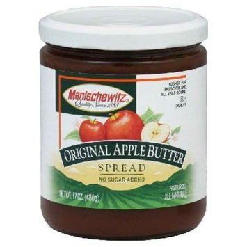 MANISCHEWITZ Apple Butter - Original, 17-Ounce Jars (Pack of 6)