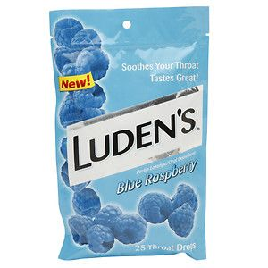 Ludens Luden's Throat Drops, Blue Raspberry