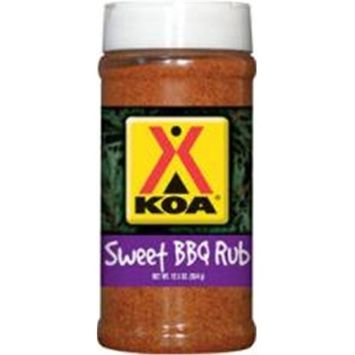 Hot Sauce Harry's Hot Sauce Harrys KOA1303 KOA SWEET BBQ RUB - Pint