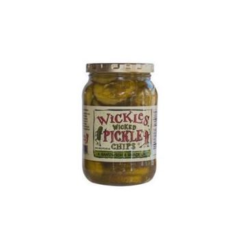 Wickles Wicked Pickle Chips 16 fl oz
