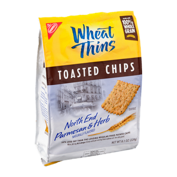 Nabisco Wheat Thins Toasted Chips North End Parmesan & Herb