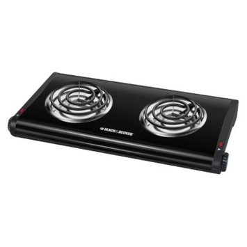 Black & Decker 2-Burner Portable Double Buffet Range