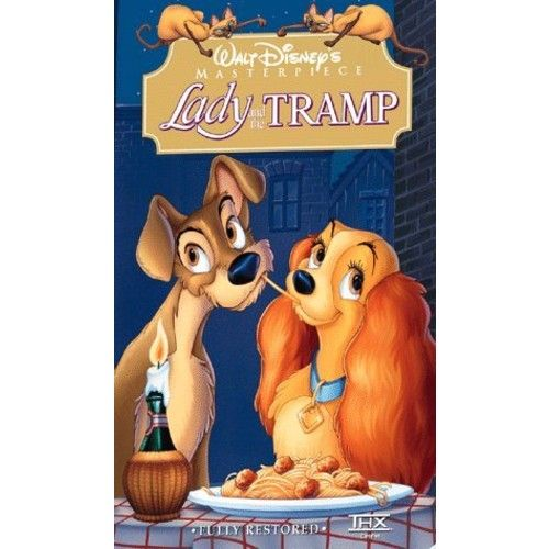 Disney Lady and the Tramp [VHS] [Red]