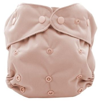 Kissaluvs Kissa's One Size All-In-One Diaper, Rose Dust