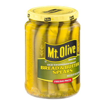 Mt. Olive Bread & Butter Spears Old-Fashioned Sweet