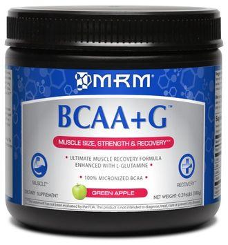 Mrm Metabolic Response Modifiers BCAA + G 180g Ultimate Recovery Formula - Green Apple MRM (Metabolic Response Mo