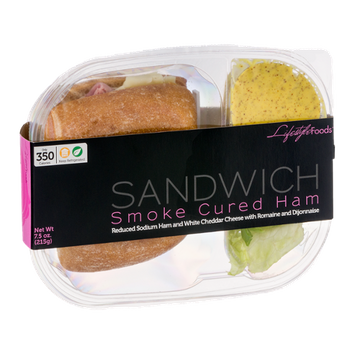 Lifestyle Foods Smoke Cured Ham Sandwich