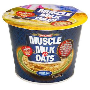CytoSport Muscle Milk N Oats Instant Cereal