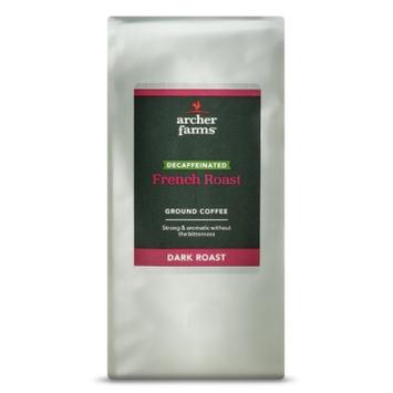 Archer Farms Decaffeinated French Roast Ground Coffee 12-oz.