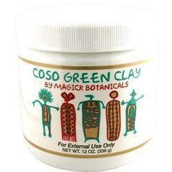 Magick Botanicals - Coso Green Clay - 12 oz.