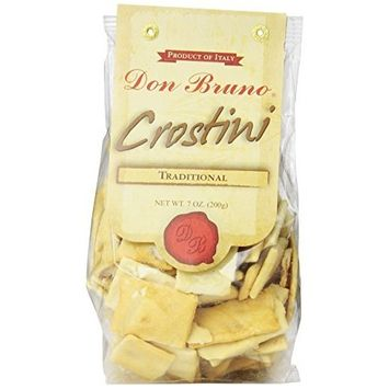 Don Bruno Traditional Crostini, 7-Ounce Bags (Pack of 6)