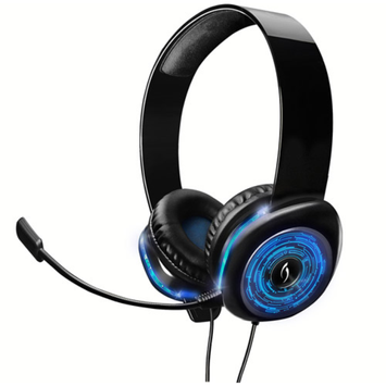 PDP Afterglow AGX.50 Licensed Wired Headset for Xbox 360, Blue