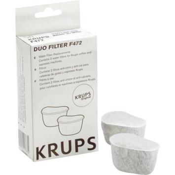 Krups 472-00 Krups Coffeemaker Duo Water Filter Cartridge-2PK DUO COFFEE FILTER
