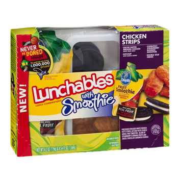 Lunchables With Smoothie Chicken Strips