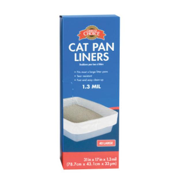 Grreat ChoiceA Cat Pan Liners
