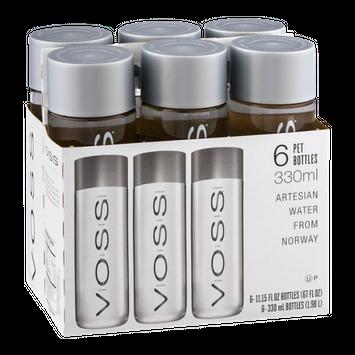 Voss Artesian Water Pet Bottles - 6 PK