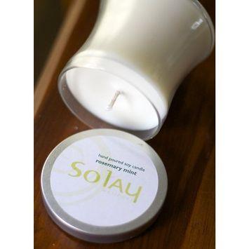 Solay Wellness, Inc. So Light Lemon Verbana Pure 100% Soy Candle (9 oz)