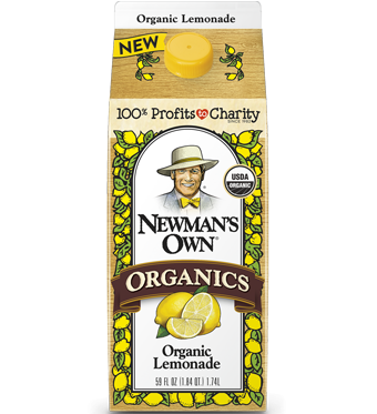 Newman's Own Organic Lemonade