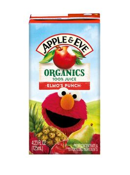Apple & Eve® Sesame Street Organic Elmo's Punch