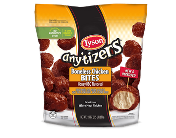 Tyson Any'tizers® Boneless Chicken Bites (Honey BBQ Flavored)