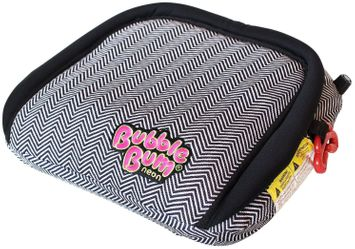 BubbleBum Inflatable Car Booster Seat - Chevron/Neon Pink - 1 ct.