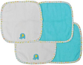 Neat Solutions 4-pk. Elephant Washcloths