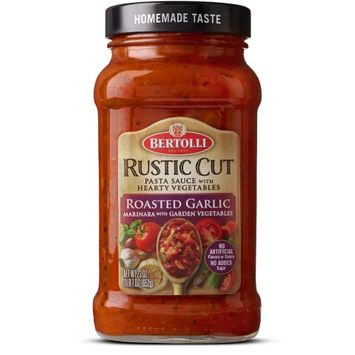 Bertolli® Rustic Cut Roasted Garlic Marinara with Garden Vegetables Sauce
