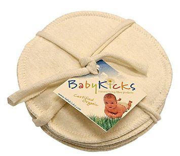 Babykicks Jersey Nursing Pads (Set of 3)