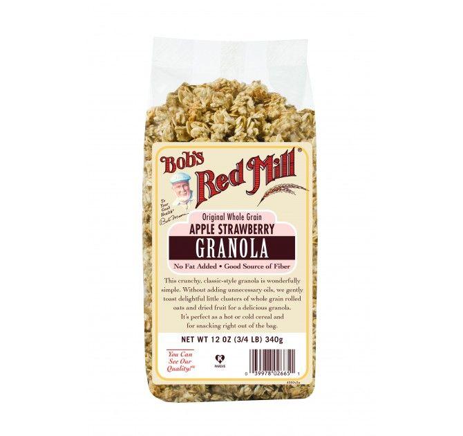 Bob's Red Mill Original Whole Grain Apple Blueberry Granola