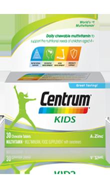 Centrum® Kids Chewables Multivitamin