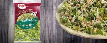 Dole Fresh Chopped Caesar Salad Kit
