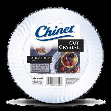 Chinet® Cut Crystal® Dessert Plate 7