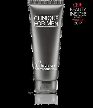 Clinique for Men™ 2 in 1 Skin Hydrator + Beard Conditioner