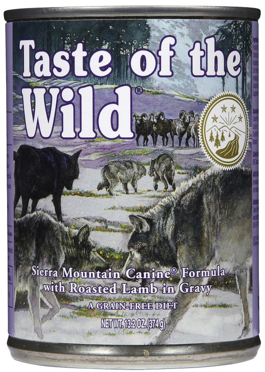 Taste of the Wild Canned Food Formula - 12 x 13.2 oz