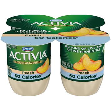 Activia® Light Peach Probiotics Nonfat Yogurt