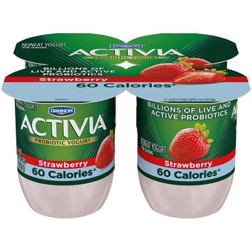 Activia® Light Strawberry Probiotics Nonfat Yogurt