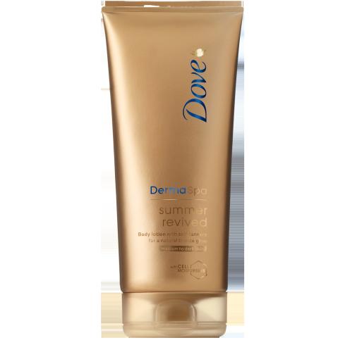 Dove DermaSpa Summer Revived Self-Tanning Body Lotion Fair to Medium